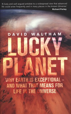 cover van 'David Waltham | Lucky planet'